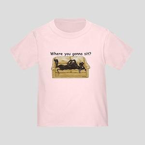 NBlk Where RU Toddler T-Shirt
