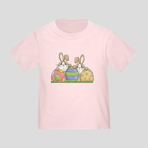 Easter Bunny Inside Easter Egg Toddler T-Shirt