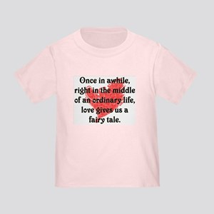 Little girl Fairy Tale Love Toddler T-Shirt