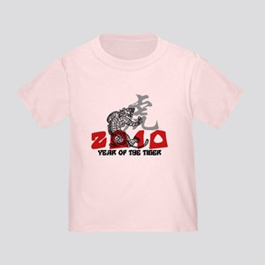 2010 Year of The Tiger Toddler T-Shirt