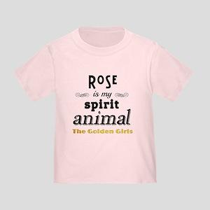 Rose is My Spirit Animal Toddler T-Shirt