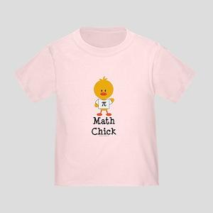 Math Chick Toddler T-Shirt