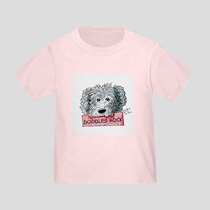 Doodles Rock Sign Toddler T-Shirt