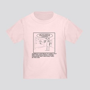 Topology Joke Toddler T-Shirt