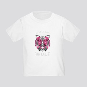 Just A Girl Who Loves Wolf Pack Alpha Gift T-Shirt
