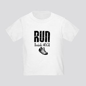 Isaiah 40:31 Run Toddler T-Shirt