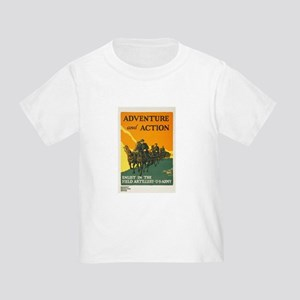 WWI Enlist in Field Artillery Army Toddler T-Shirt
