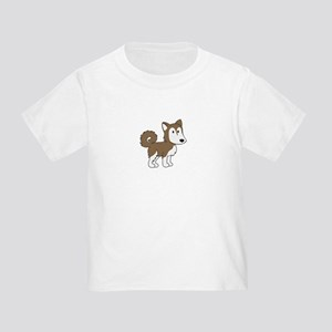 Cute Husky Toddler T-Shirt