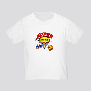 Superhero Comic Book Toddler T-Shirt