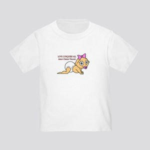 Love Conquers All Toddler T-Shirt