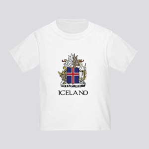 Iceland Coat of Arms Toddler T-Shirt