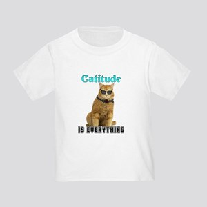 Catitude Toddler T-Shirt