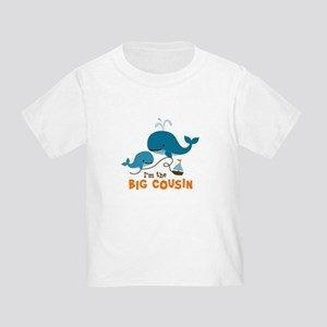 Big Cousin - Whale Toddler T-Shirt