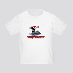 Christmas Loon Toddler T-Shirt