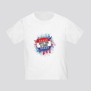 Vote for a Cure For Cancer Toddler T-Shirt