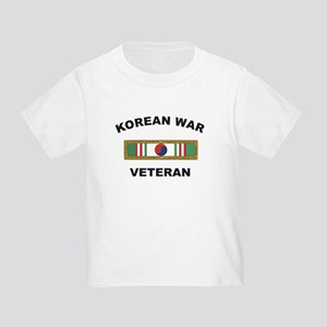 Korean War Veteran 1 Toddler T-Shirt