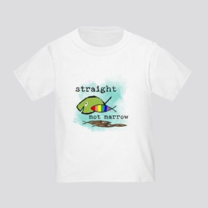 Straight But Not Narrow Toddler T-Shirt