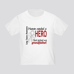 Heaven Needed a Hero Lung Cancer Toddler T-Shirt