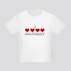 I Love Polygamy Toddler T-Shirt