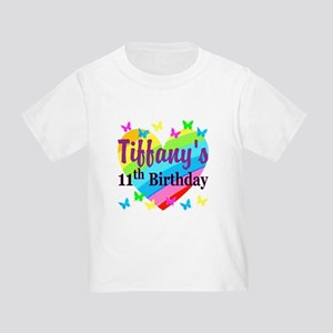 PERSONALIZED 11TH Toddler T-Shirt
