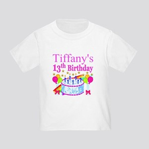 PERSONALIZED 13TH Toddler T-Shirt