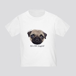 Personalised Wee Scottish Shug The Pug T-Shirt