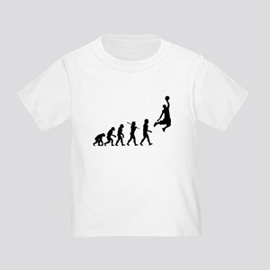 Basketball Evolution Jump Toddler T-Shirt