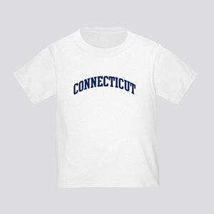 Blue Classic Connecticut Toddler T-Shirt