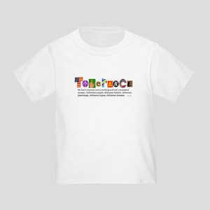 Tolerance Toddler T-Shirt