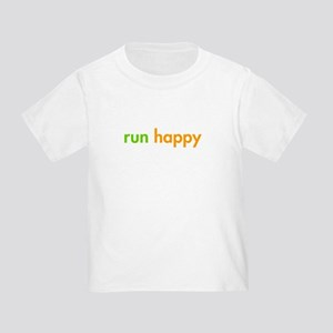 run-happy-fut-green-orange T-Shirt