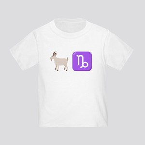 Emoji Capricorn Zodiac Toddler T-Shirt