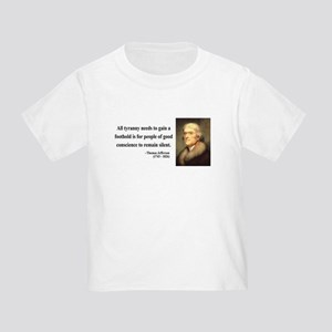 Thomas Jefferson 4 Toddler T-Shirt