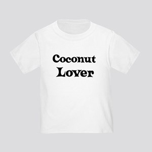 Coconut lover Toddler T-Shirt