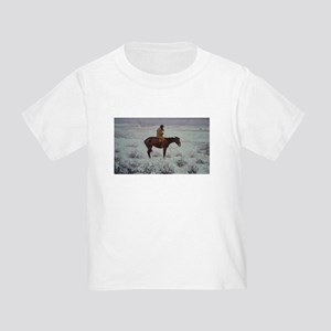 Lone Cold Brave Toddler T-Shirt