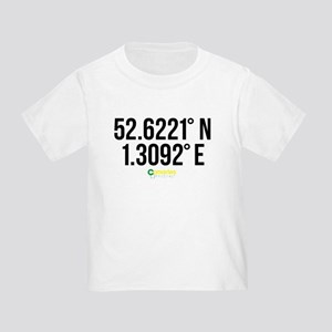 Norwich Canaries Coordinates Toddler T-Shirt