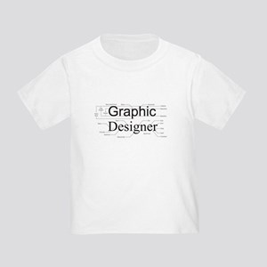 Graphic Designer Toddler T-Shirt