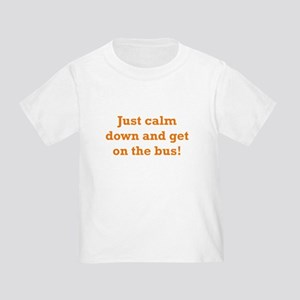 Get on the Bus Toddler T-Shirt