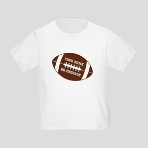 YOUR NAME Football T-Shirt