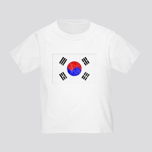 South Korea Flag Toddler T-Shirt