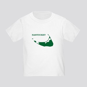 Nantucket Island - Green Toddler T-Shirt