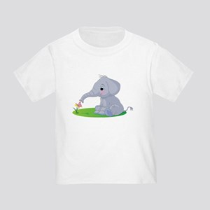 Baby Elephant with Flower T-Shirt