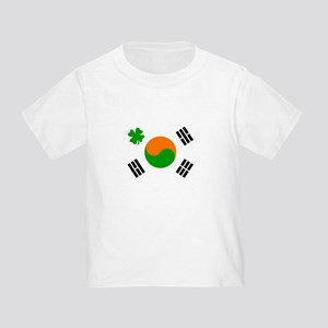 Irish/Korean Korean/Irish Toddler T-Shirt