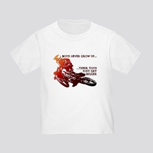 Bigger Toys Dirt Bike Motocross Funny T-Shirt Todd