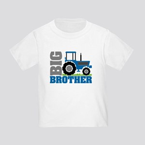 Blue Tractor Big Brother T-Shirt