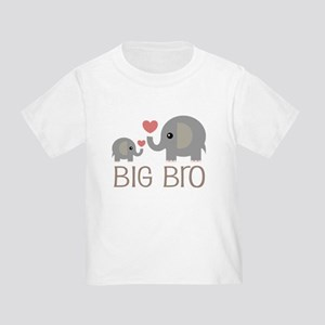 Big Bro Elephant Sibling T-Shirt