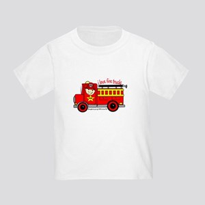 FIRE TRUCK - LOVE TO BE ME Toddler T-Shirt