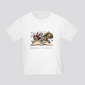 Reading is Fantastic II Toddler T-Shirt
