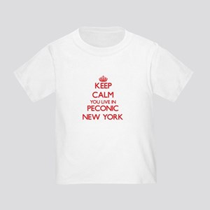 Keep calm you live in Peconic New York T-Shirt
