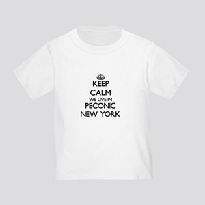 Keep calm we live in Peconic New York T-Shirt