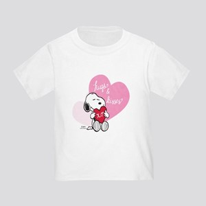 Snoopy - Hugs and Kisses Toddler T-Shirt